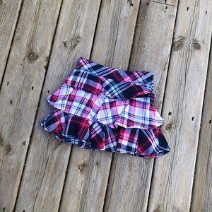 Gymboree adjustable waist skirt plaid